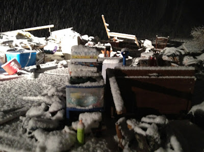 >Snow Blankets Tornado Ravaged Region, Turning Wetter, Windier Across UK-Ireland, Australian Rainstorm Eases