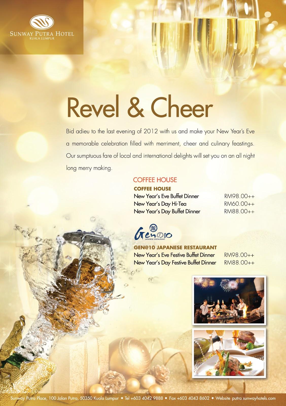 Sunway Putra Hotel Kuala Lumpur: Revel & Cheer for New Year Eve ...