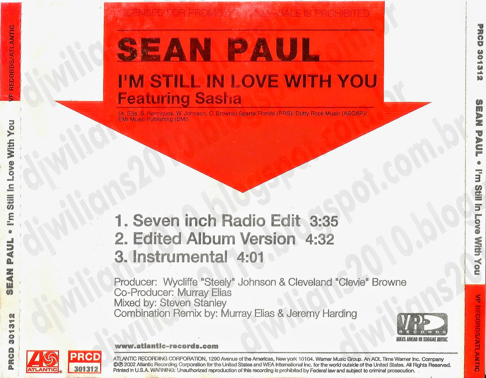 Sean Paul I'm Still in Love With You ft Sasha – Mp3 ...