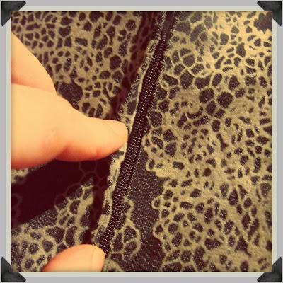 dressmaking: zip