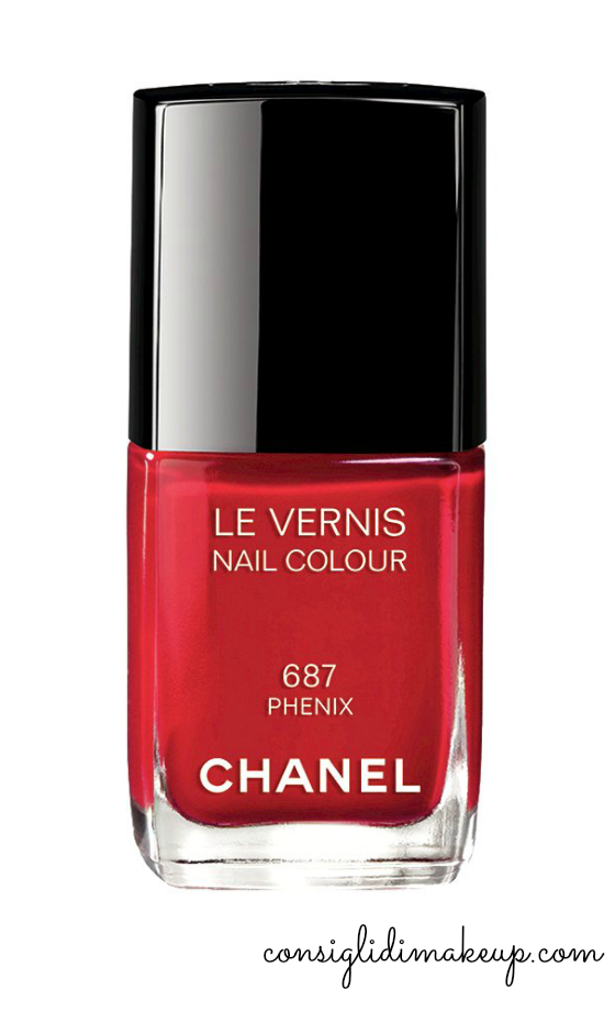 smalto le vernis phenix chanel natale 2014