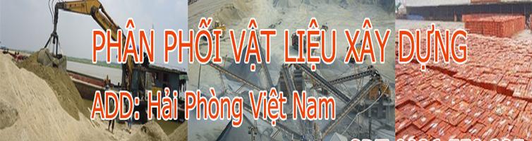 Vật liệu xây dưng Hải Phòng, bán xi măng, cát, gạch, bán gạch Hải Phòng