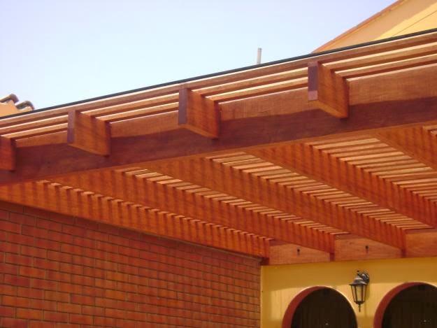 maderas para techo en las especies de abarco y amargo