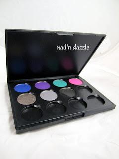 SMH, eyeshadow, palette, pan, refill, color, colour