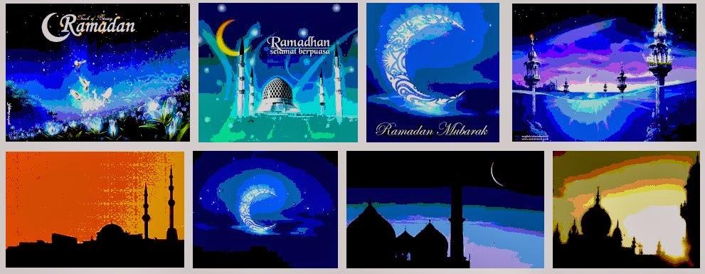 Kartu Ucapan Ramadhan Kareen Card