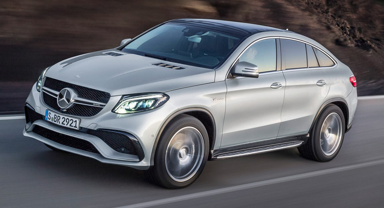 New mercedes amg gle 63 s coupe gets 577hp bi turbo v8 for Mercedes benz v8 amg