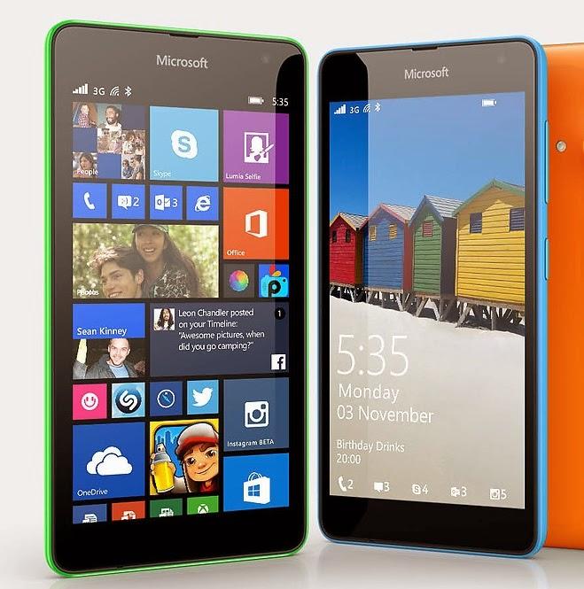 Microsoft Lumia Kini Gantikan Nama Nokia Lumia Dengan OS Windows Phone 8.1
