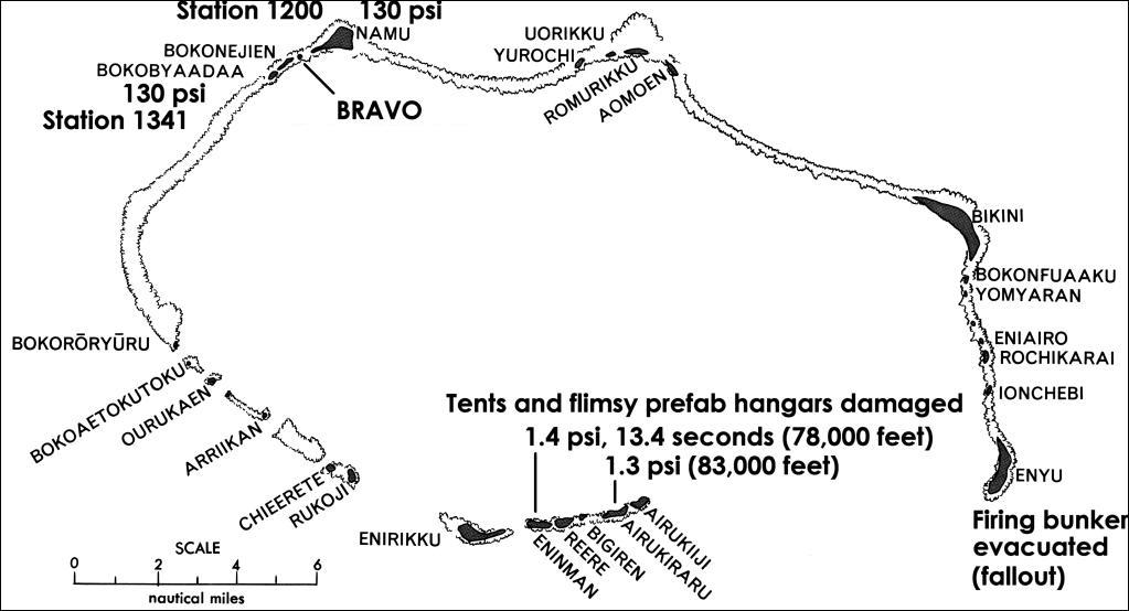 the pipes along the causeway from the bravo bomb to namu charlie island were dr sterling colgates experiment to measure bravos thermonuclear burn rate