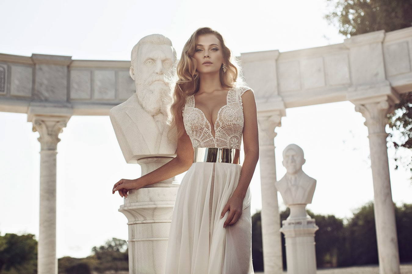 Julie vino bridal collection winter 2014 provocative woman for Hot dresses to wear to a wedding