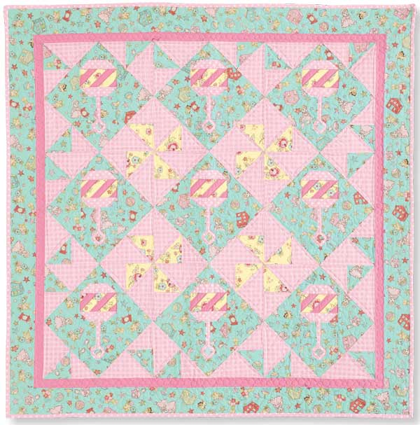 Baby Quilt Patterns Mccalls : Beaquilter: Rattles Quilt in McCall s