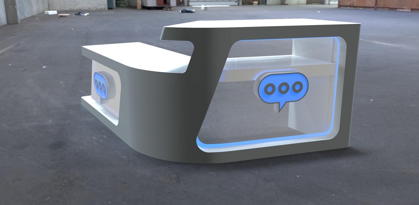 dmc design: Diseño de un mostrador