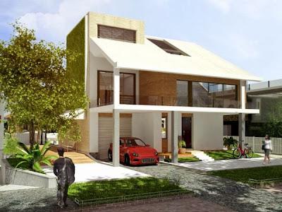 desain rumah minimalis sederhana 9