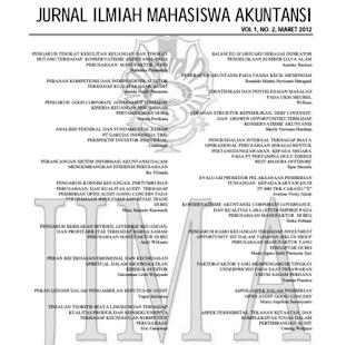 Jurnal Ilmiah Mahasiswa Akuntansi – Laporan Keuangan PDF Download