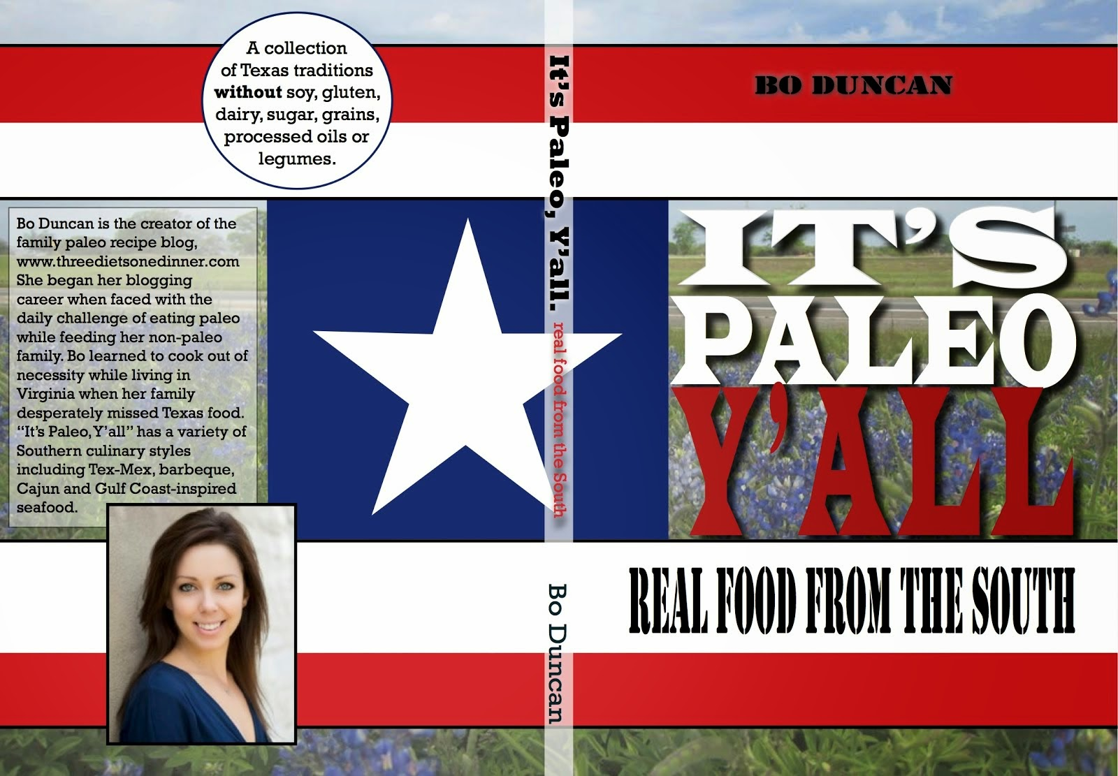 Check out my first book! It's Paleo Y'all: Real Food from the South