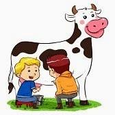 Chiste de amigos, infancia, difícil, padre, vacas , hermanos.