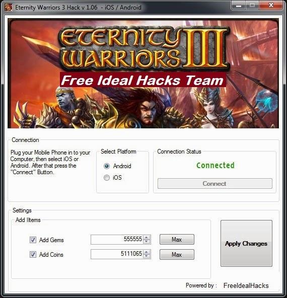 Eternity Warriors Hack Tool Download