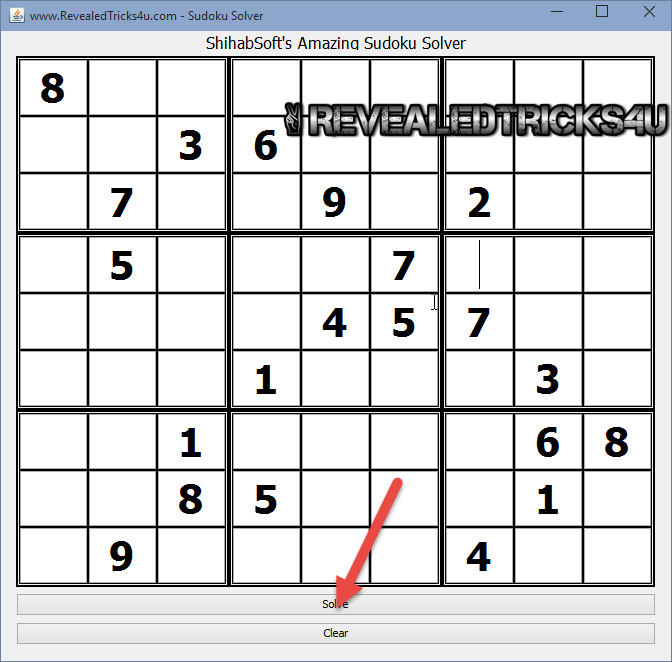 Amazing blazing fast sudoku solver for windows linux mac for Peculiarity crossword clue