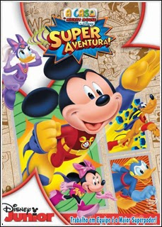 564656 Download   A Casa do Mickey Mouse   Super Aventura!   DVDRip AVI Dual Áudio + RMVB Dublado