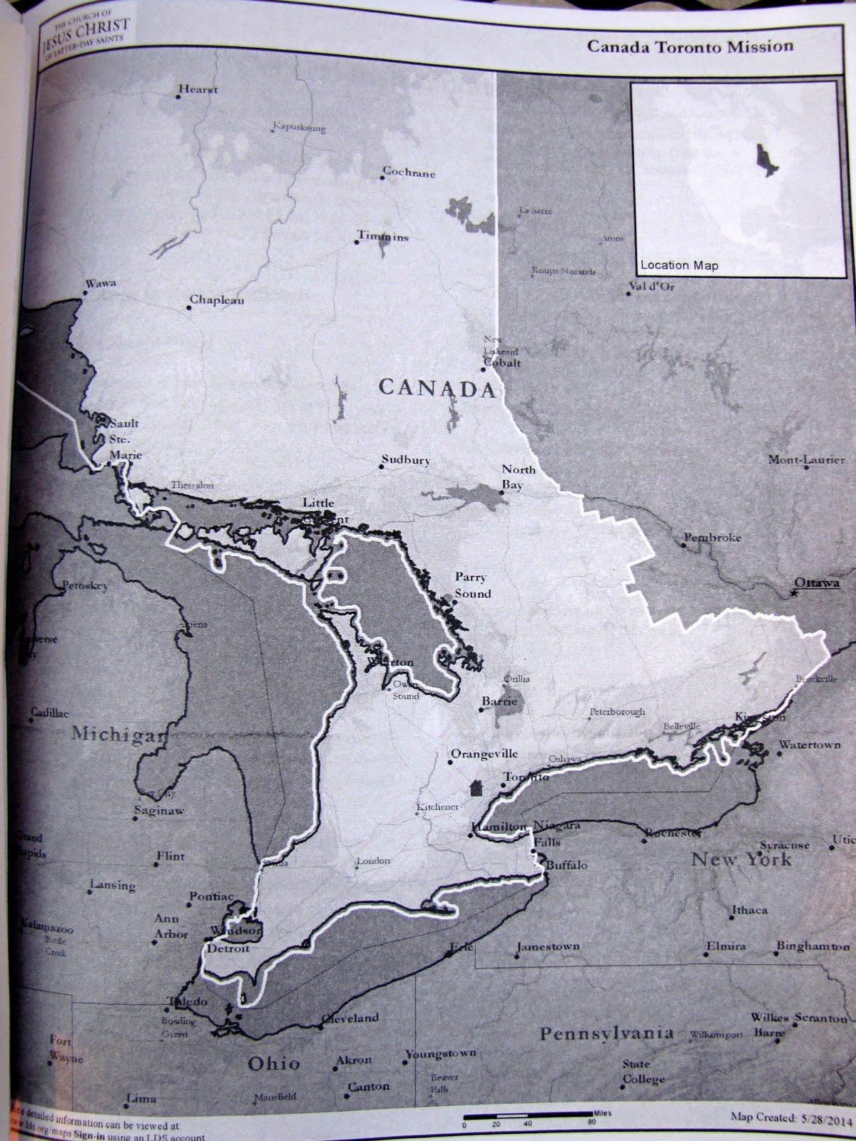 Canada Toronto Mission