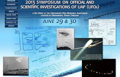 Scientific Research Behind UFO Sightings is The Thesis for an International Symposium in Greensboro This Weekend