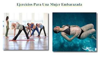 ejercicios adecuados para una mujer embarazada