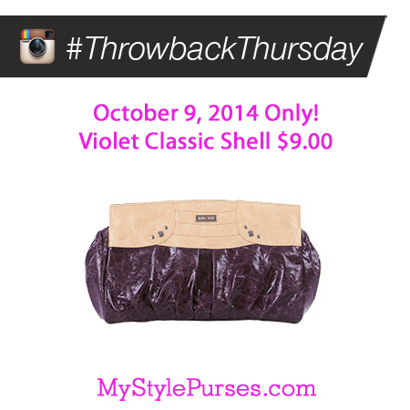 Miche Throwback Thursday October 9, 2014 | Shop MyStylePurses.com
