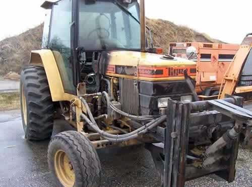 Ford Backhoe Salvage Parts : Ford tractor salvage parts autos post