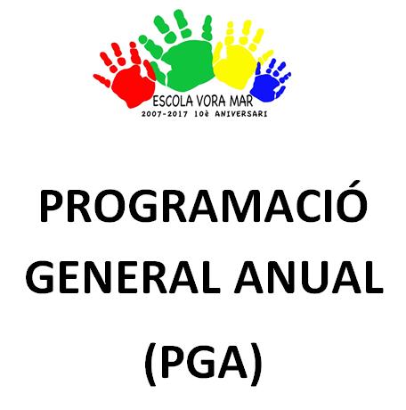 PROGRAMACIÓ GENERAL ANUAL