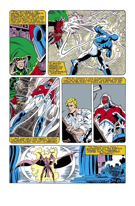 Captain America (1968) Issue #305 #233 - English 22