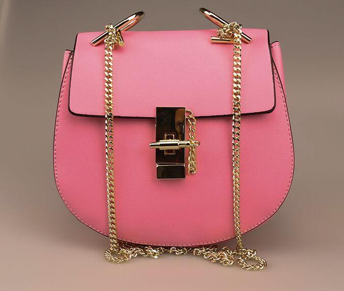 """Splenderosa's Pink """"Chelsea"""" Bag"""