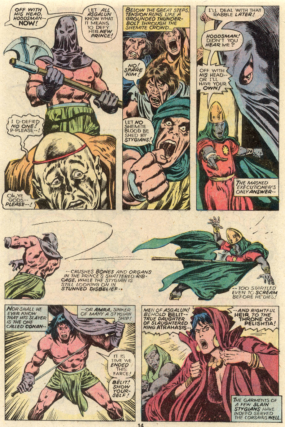 Conan the Barbarian (1970) Issue #93 #105 - English 10