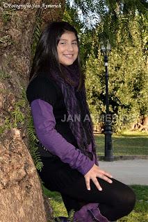 Sesión de fotos infantil: Christina - Sesión en exterior