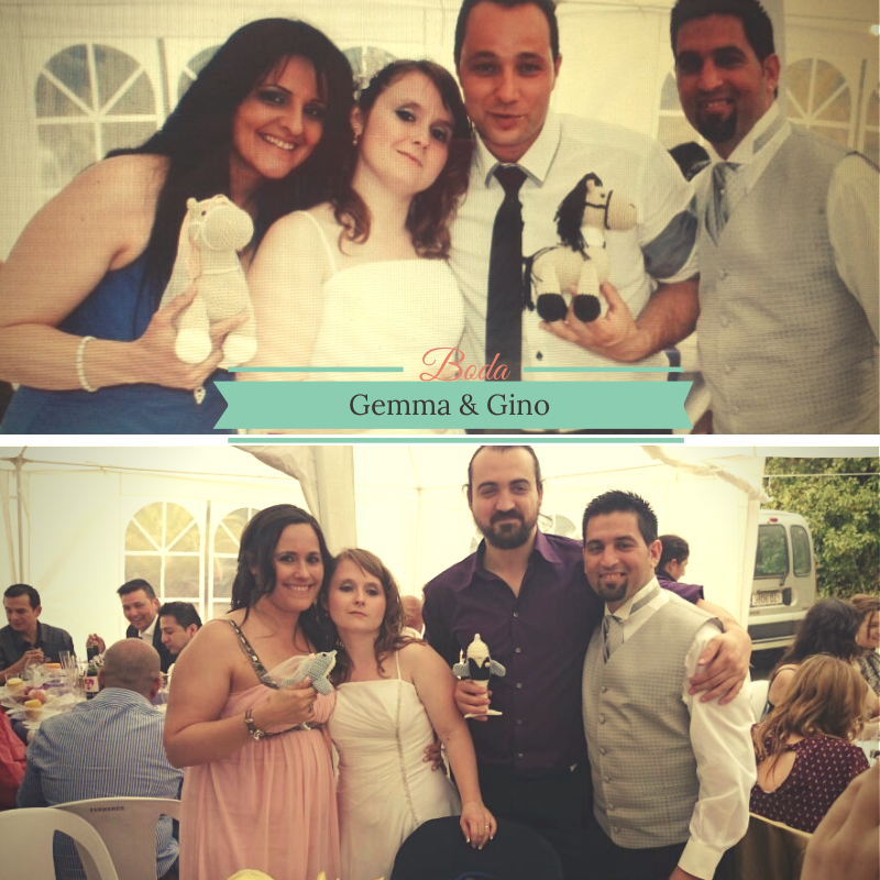 Sorprendidos boda Gemma y Gino