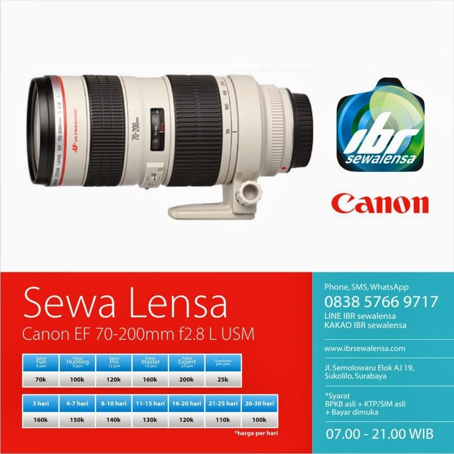 Canon 70-200 mm F2.8 L USM