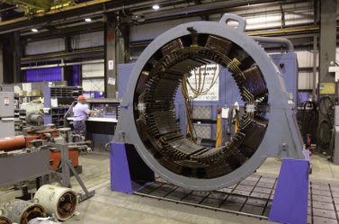 Magnetech Offers Rewind Generator Stator Services