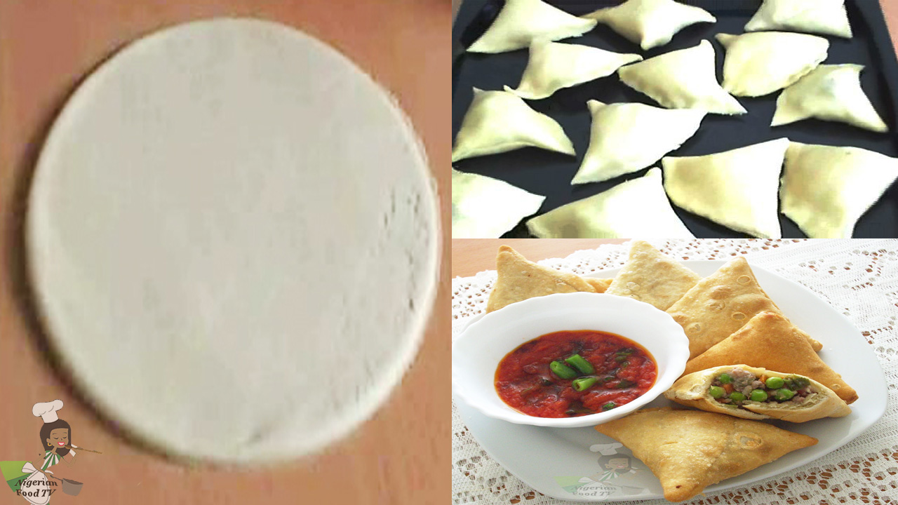 Homemade Samosa Wrappers