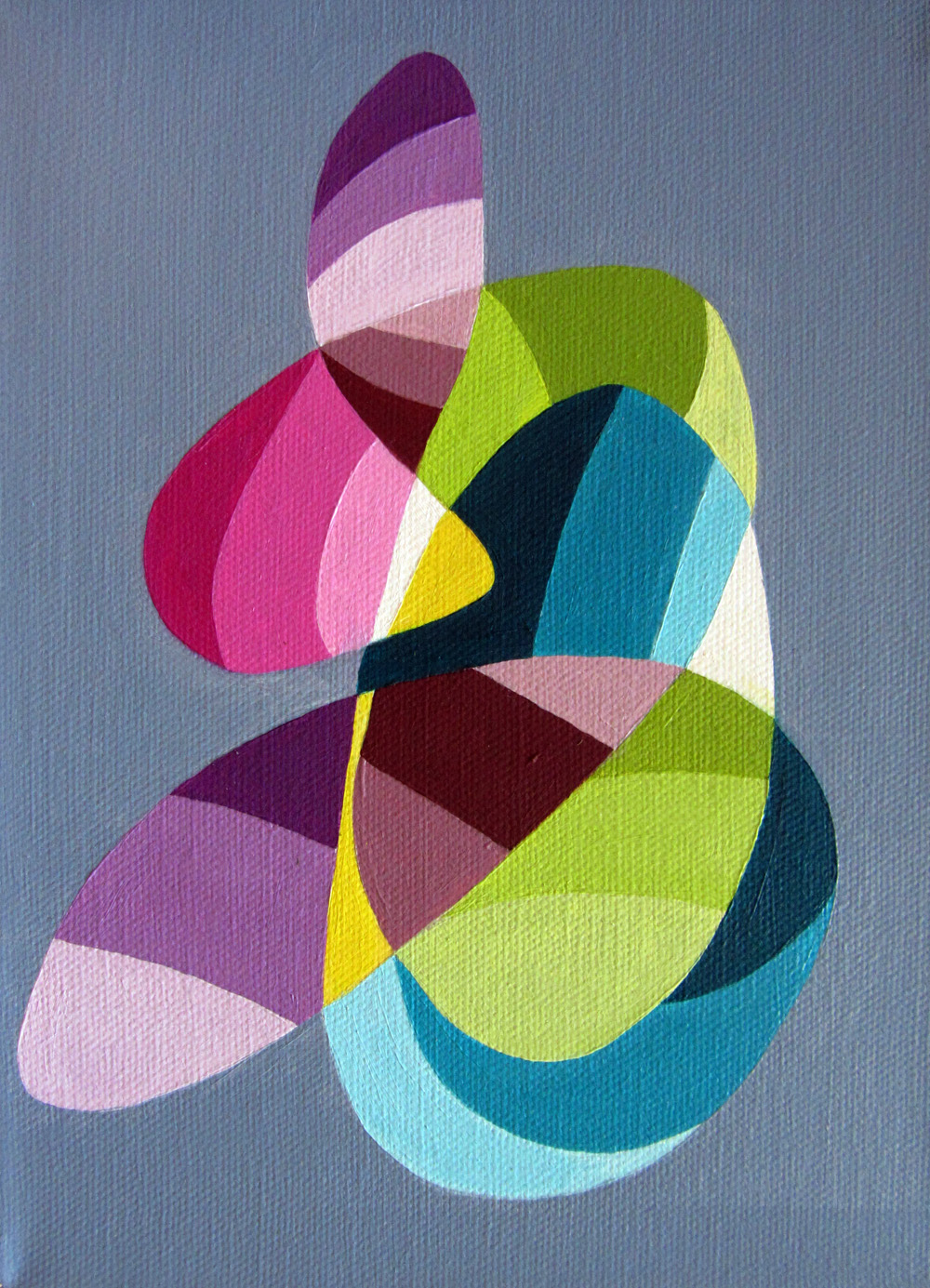 Christina robinson designs and artwork geometric paintings for Geometric paint designs