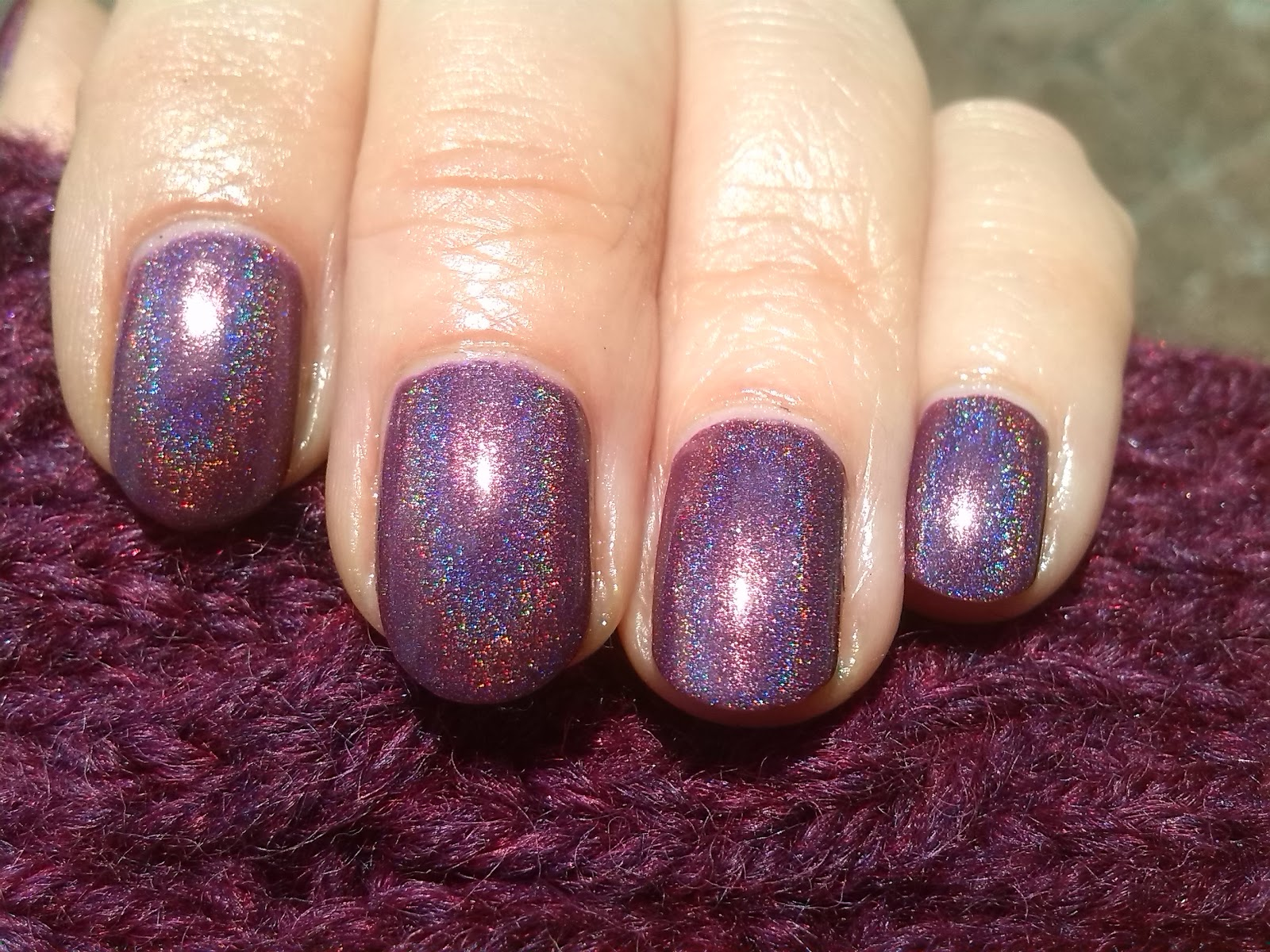 Too Fancy Lacquer A Currant Affair