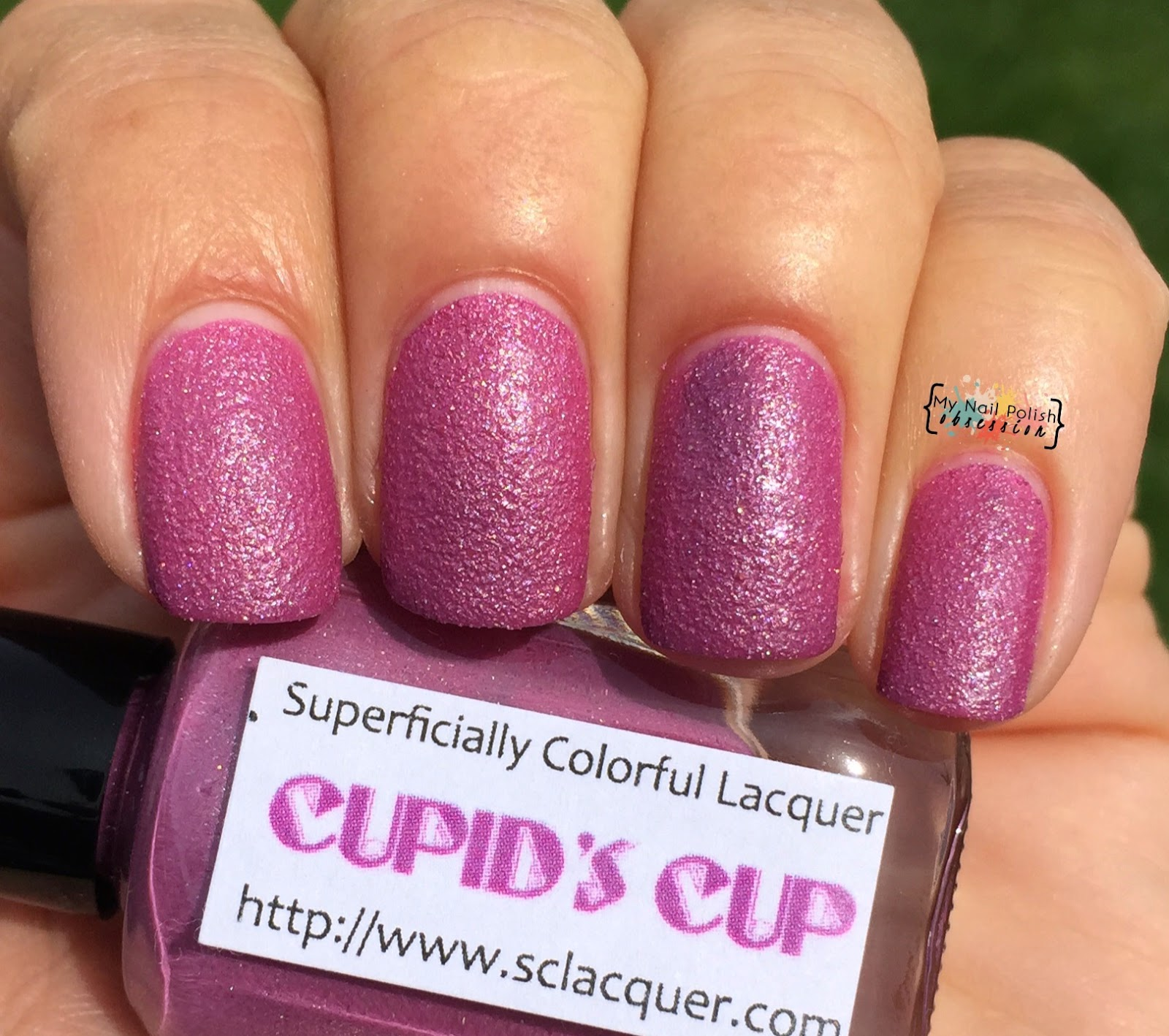 Superficially Colorful Lacquer Cupid's Cup