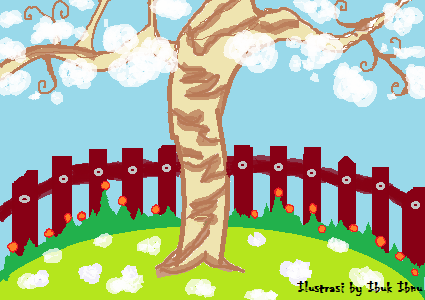 pohon salju atau kapuk