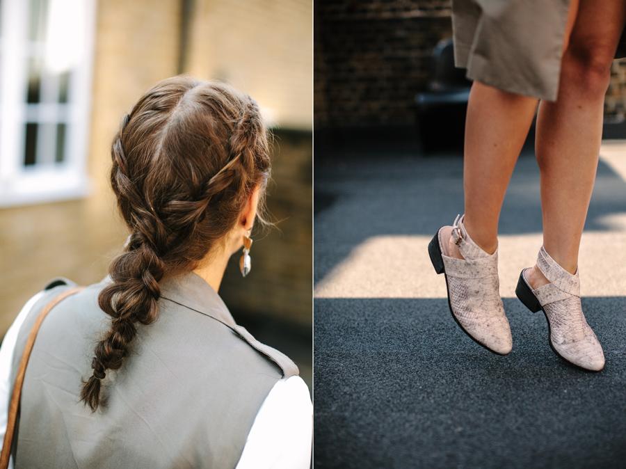 shoes braids fashion style