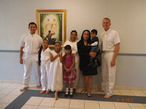 Chase's First Baptism