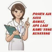 Kumpulan Dp BBM Profesi Bidan dan Perawat Secara Lucu dan Gokil
