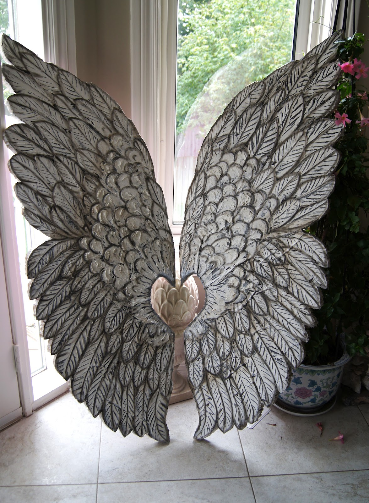 Artistic Environments: Large Angel Wings ~~ Hand Crafted Hand Sculpted ...