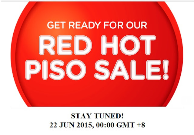Air Asia Airlines: Get ready, because our RED HOT PISO SALE is back!