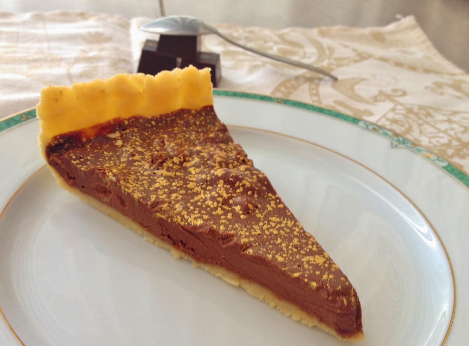 tarte au chocolat, végétarien,frédéric anton