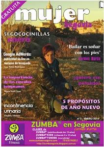 ZUMBA® en Segovia -PORTADA REVISTA MUJER SEGOVIA
