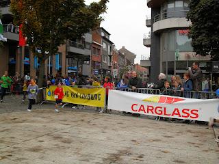 Aankomst Tristan Dwars Door Hasselt 2013 - 3 km