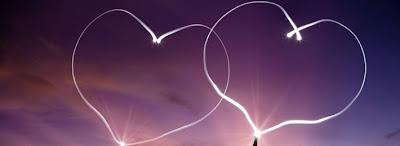 Capa Facebook 2 corações