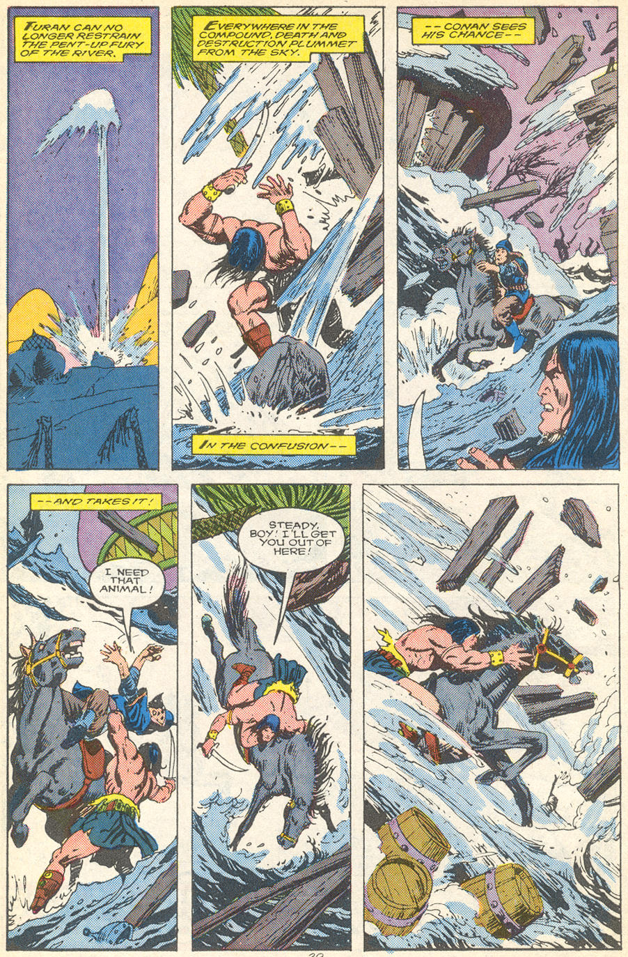 Conan the Barbarian (1970) Issue #215 #227 - English 22